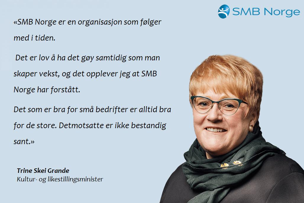 SMB Norge - Trine Skei Grande