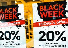 Black Friday bidro til kraftig fall i julehandelen