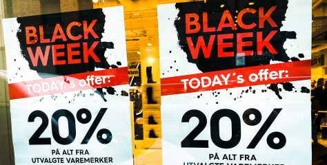 Black Friday bidro til kraftig fall i julehandelen