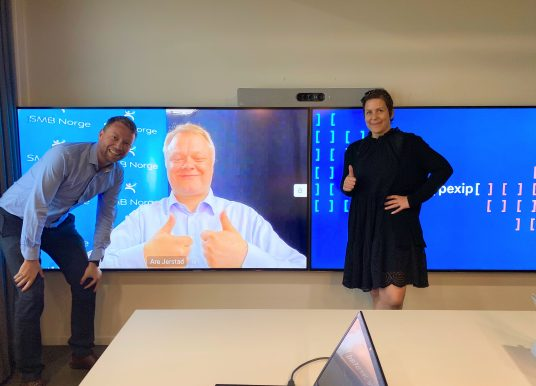 SMB Norge inngår partneravtale med videokonferanseselskapet Pexip